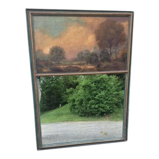Early 20th Century Trumeau Mirror For Sale
