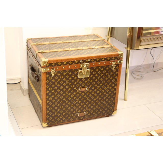 Louis Vuitton Monogram Steamer Trunk For Sale - Image 12 of 12