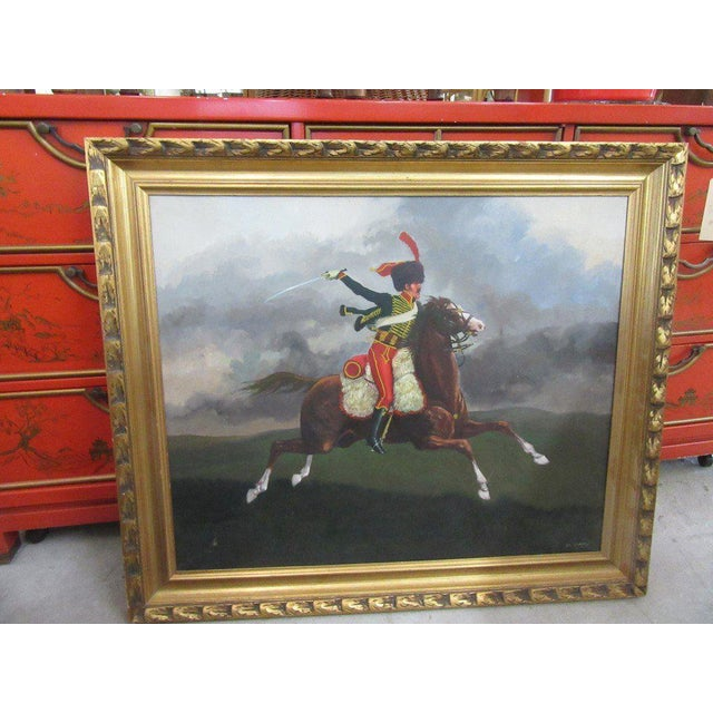 French Hussar Painting - Image 5 of 5