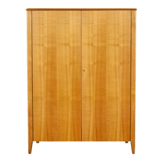 1940s Minimalist Storage Cabinet For Sale