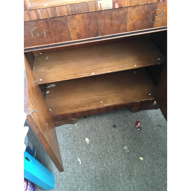 Vintage Waterfall Cabinet or Bar - Image 8 of 9