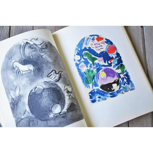 Marc Chagall the Jerusalem Windows Hardback First Edition Book For Sale - Image 10 of 12
