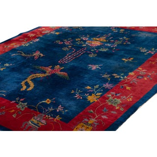 "Early 20th Century Art Deco Chinese Rug, 8'1"" X 9'10"" Preview"