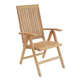 Niagara Teak Crown Chair For Sale
