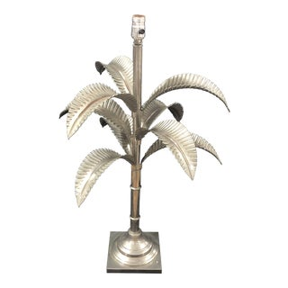 1960s Italian Chrome Palm Lamp For Sale