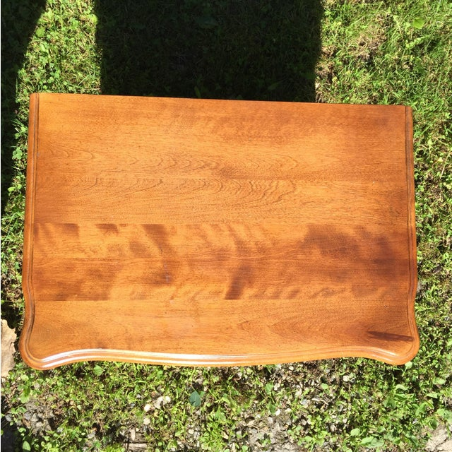 Traditional Ethan Allen Birchwood Nightstand For Sale - Image 3 of 11
