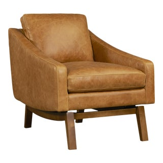Dutch Leather Chair For Sale