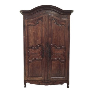 Armoire, Early 19th Century Country French in Fruitwood For Sale