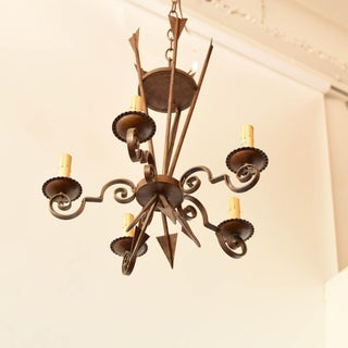 Iron Rustic Empire Chandelier With Arrows Preview