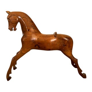 Mid 19th Century Antique Play Horse Figurine For Sale