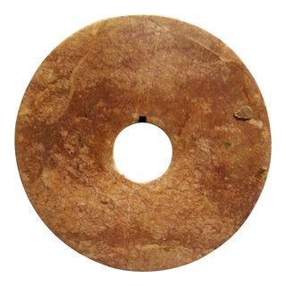 Vintage Chinese StoneBi Disk For Sale
