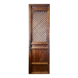 19th Century Spanish Single Pine Door For Sale