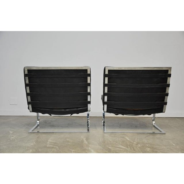 Mies Van Der Rohe Tugendhat Lounge Chairs for Knoll - Image 6 of 9