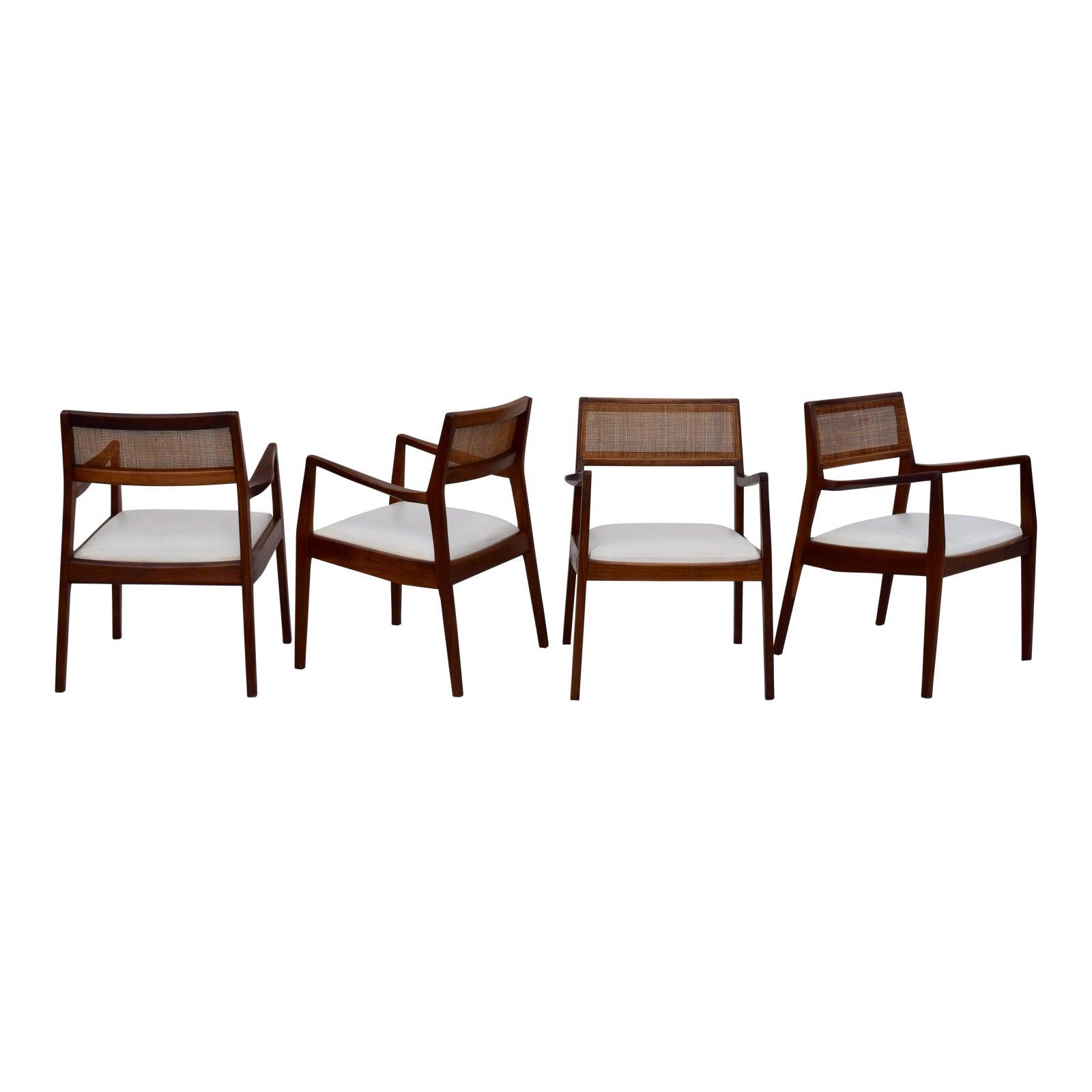 Jens Risom Playboy Dining Chairs - Set of 6 | Chairish