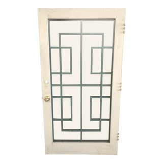 Mid Century Front Door For Sale