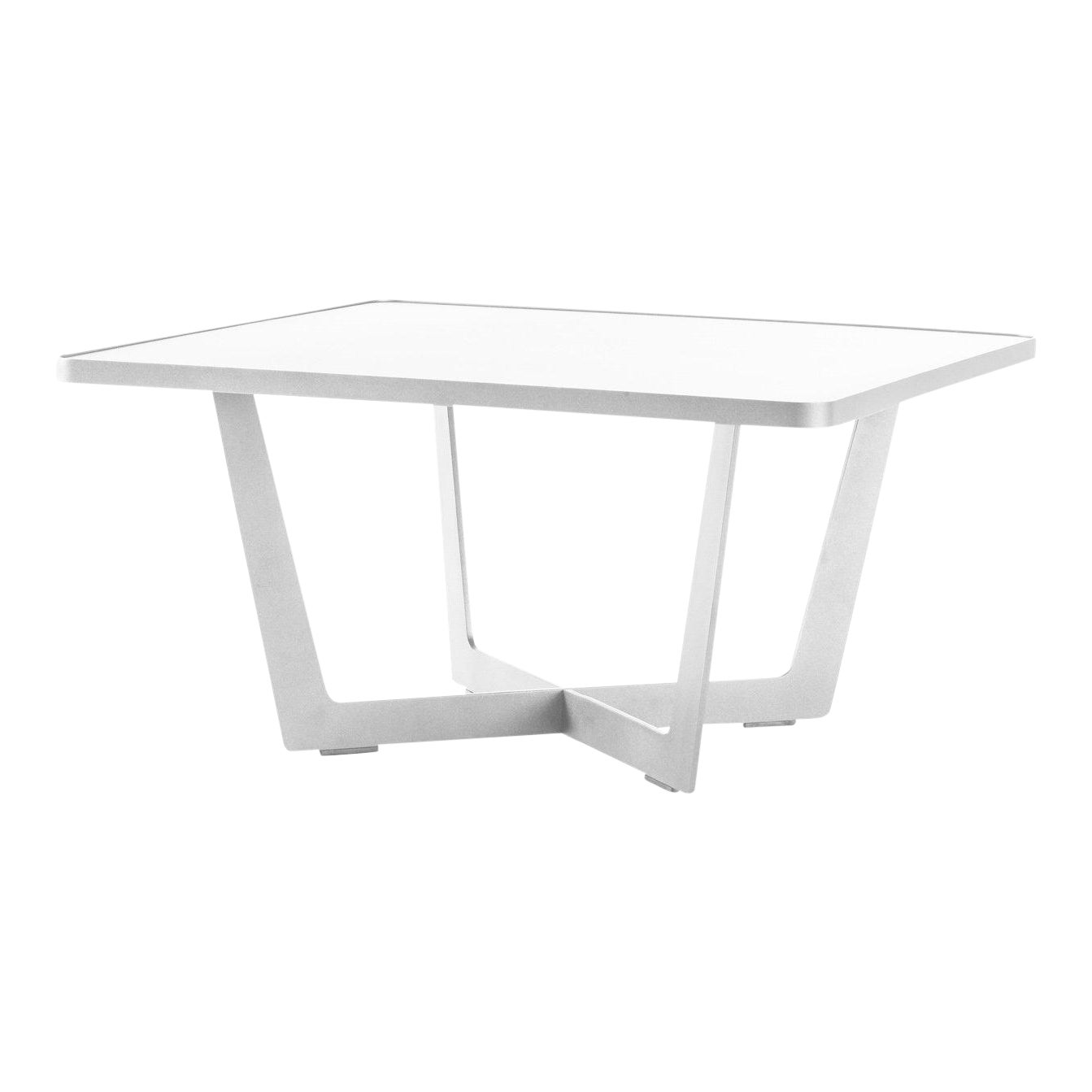 Cane Line Time Out Coffee Table Large White Chairish