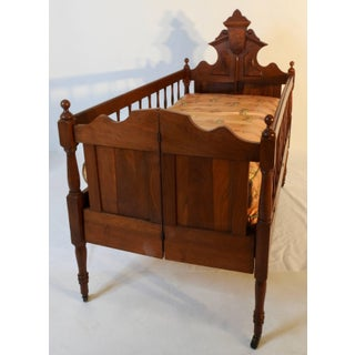 19th Century Victorian Baby Bed Preview