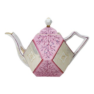 Rs Prussia Pink Diamond Teapot For Sale