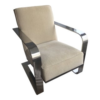 Modern Ralph Lauren Club Chair For Sale