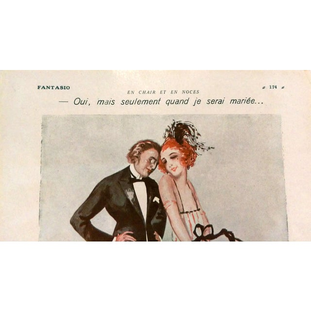 "1924 Fantasio ""Only When I'm Married"" Print by Bloch - Image 3 of 5"