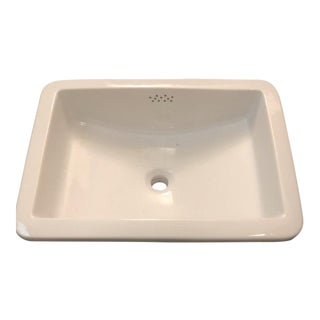 Waterworks Universal Rectangular Sink For Sale