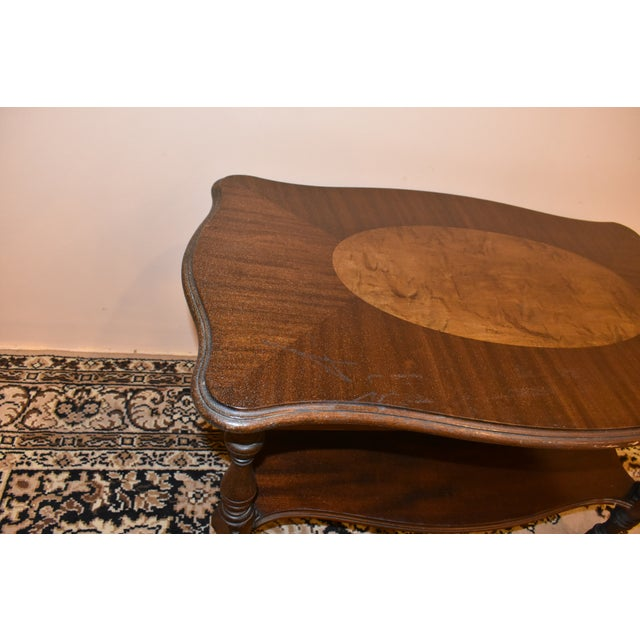 Mahogany Imperial Antique Mahogany Accent Table For Sale - Image 7 of 8