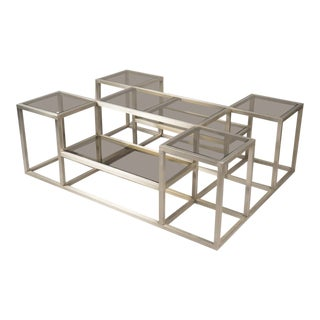 Steel Multi-level Structured Coffee Table