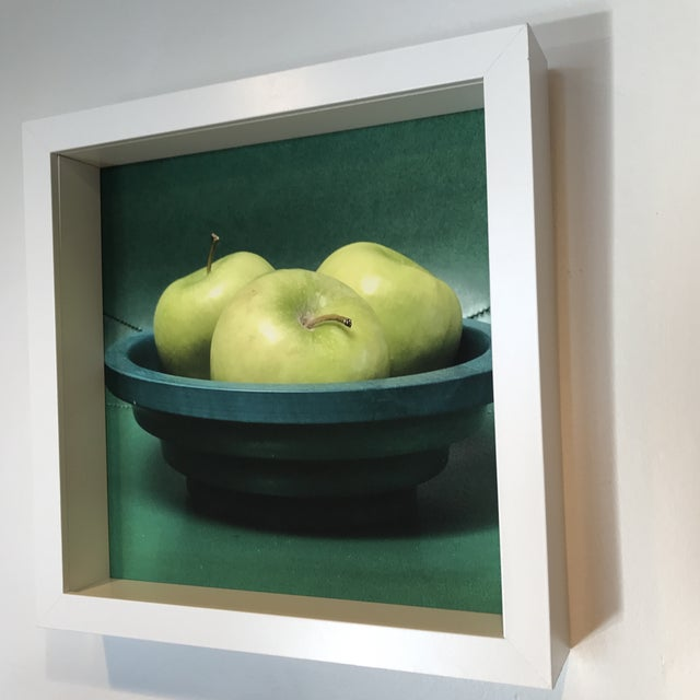 Contemporary Green to the 3rd Power Original Framed Photograph For Sale - Image 3 of 5