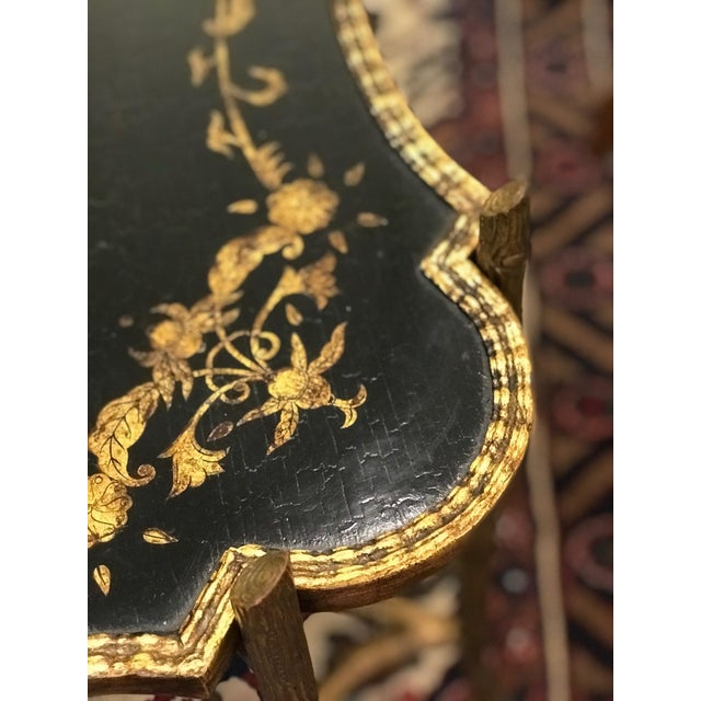Dennis & Leen Dennis & Leen Chinoiserie Tray Table For Sale - Image 4 of 7