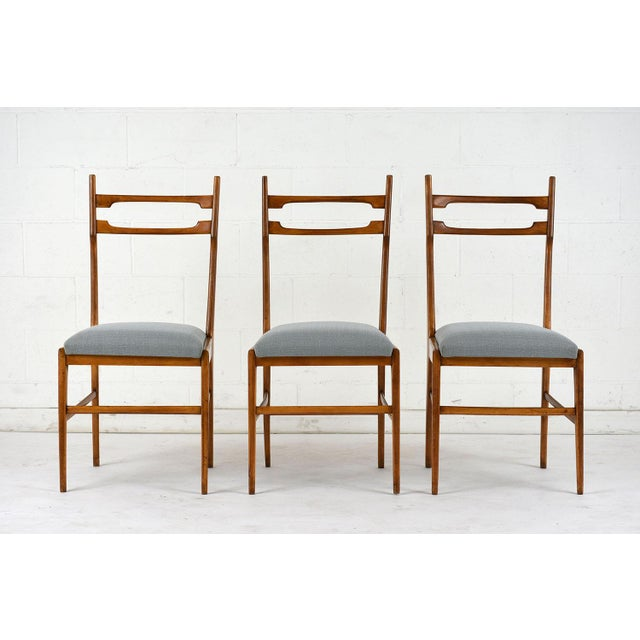 Set of 6 Mid-Century Modern Dining Chairs - Image 2 of 9