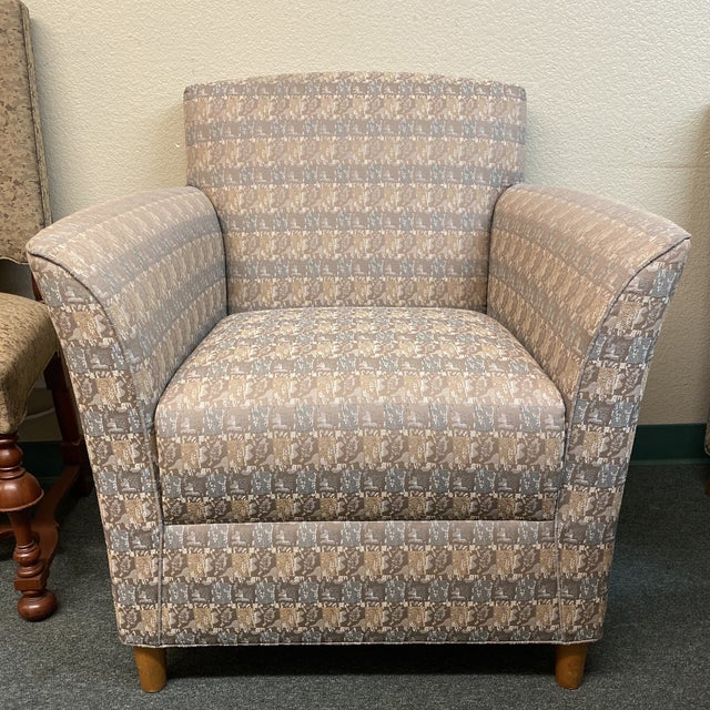 Bernhardt Custom Accent Chairs - a Pair For Sale - Image 12 of 13
