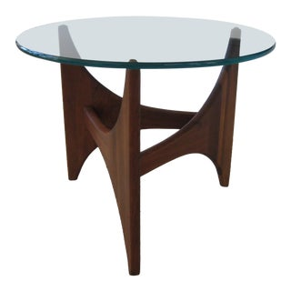 Mid-Century Modern Pearsall Walnut End Table For Sale