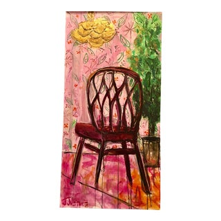 """""""Have a Seat People"""" Original Painting by Jj Justice"""
