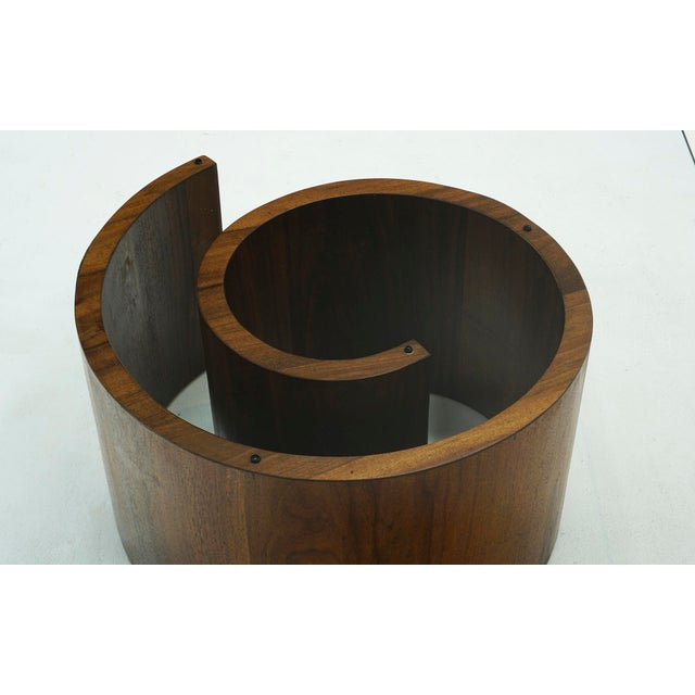 Mid-Century Modern 1960s Vladimir Kagan Square Snail Coffee Table For Sale - Image 3 of 7