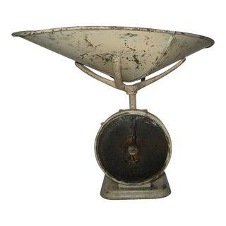 1800s Antique Pelouze 4 Pound General Store Scale For Sale
