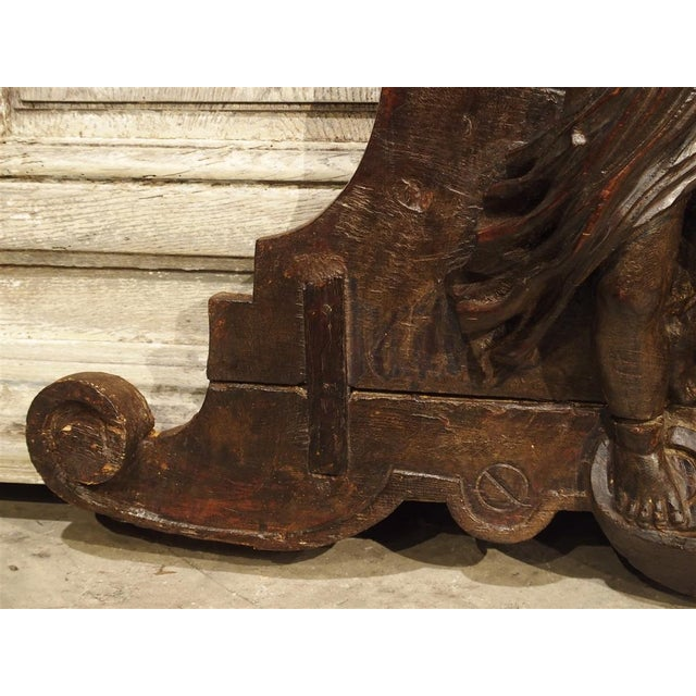18th Century Carved Wooden Overdoor From France For Sale In Dallas - Image 6 of 13