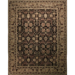 """Afghan Hand Knotted Rug-10'5'x13'2"""" For Sale"""