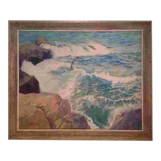 American Mid 20th Cent. Oil Painting by Ralph Hillbom(1894-1977) For Sale