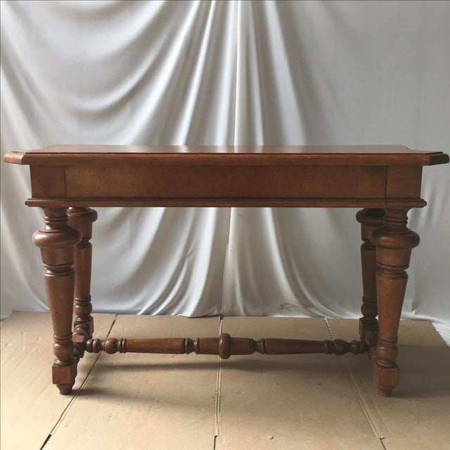 Transitional Wooden Console - Image 4 of 4