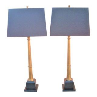 1980s Vintage Kensington Table Lamps- a Pair For Sale