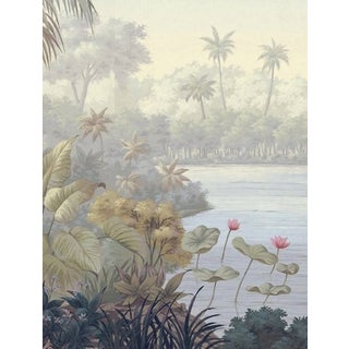 Casa Cosima Pastel Jacinda Wallpaper Mural - Sample For Sale