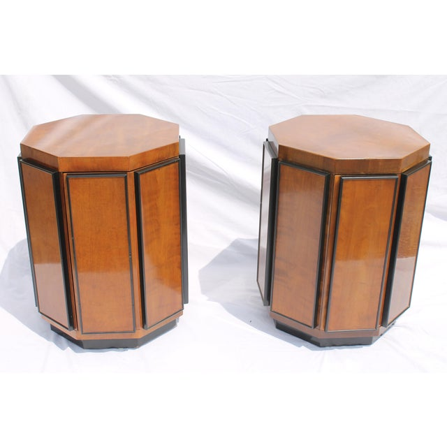 Henredon Mid-Century Nightstands or End Tables - A Pair - Image 2 of 11