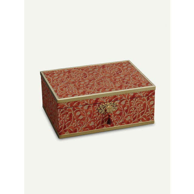 l'Objet for Fortuny Jewelry Box in Granada For Sale In New York - Image 6 of 7