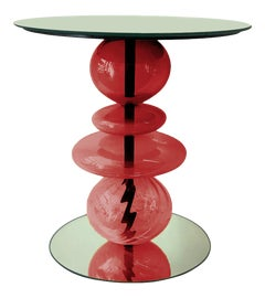 Image of Newly Made Red Side Tables