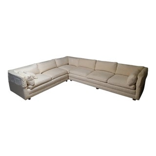 Late 20th Century Vintage Baker Sectional For Sale