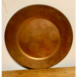 Solid Copper Tray, Vintage Patina Preview
