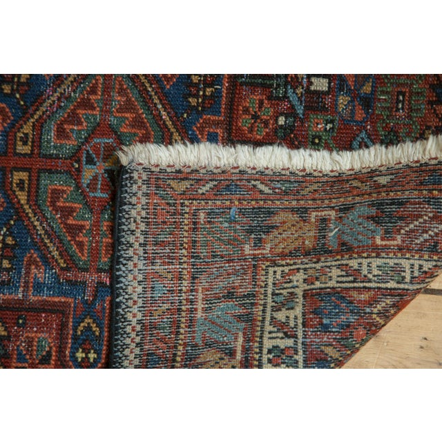 "Vintage Karaja Rug Runner - 2'9"" X 10'6"" For Sale In New York - Image 6 of 10"