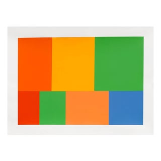 "Tom McGlynn ""Test Pattern 3 (Citric)"", Painting For Sale"