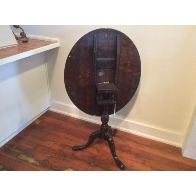 18th Century Dutch Tilt Top Table With Still Life - Image 5 of 11