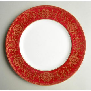 Royal Worcester Pompadour Red and Gold Dinner Plate Set /8 Preview